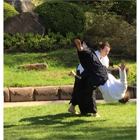 Geschäft: aikido outdoors @ japanese garden